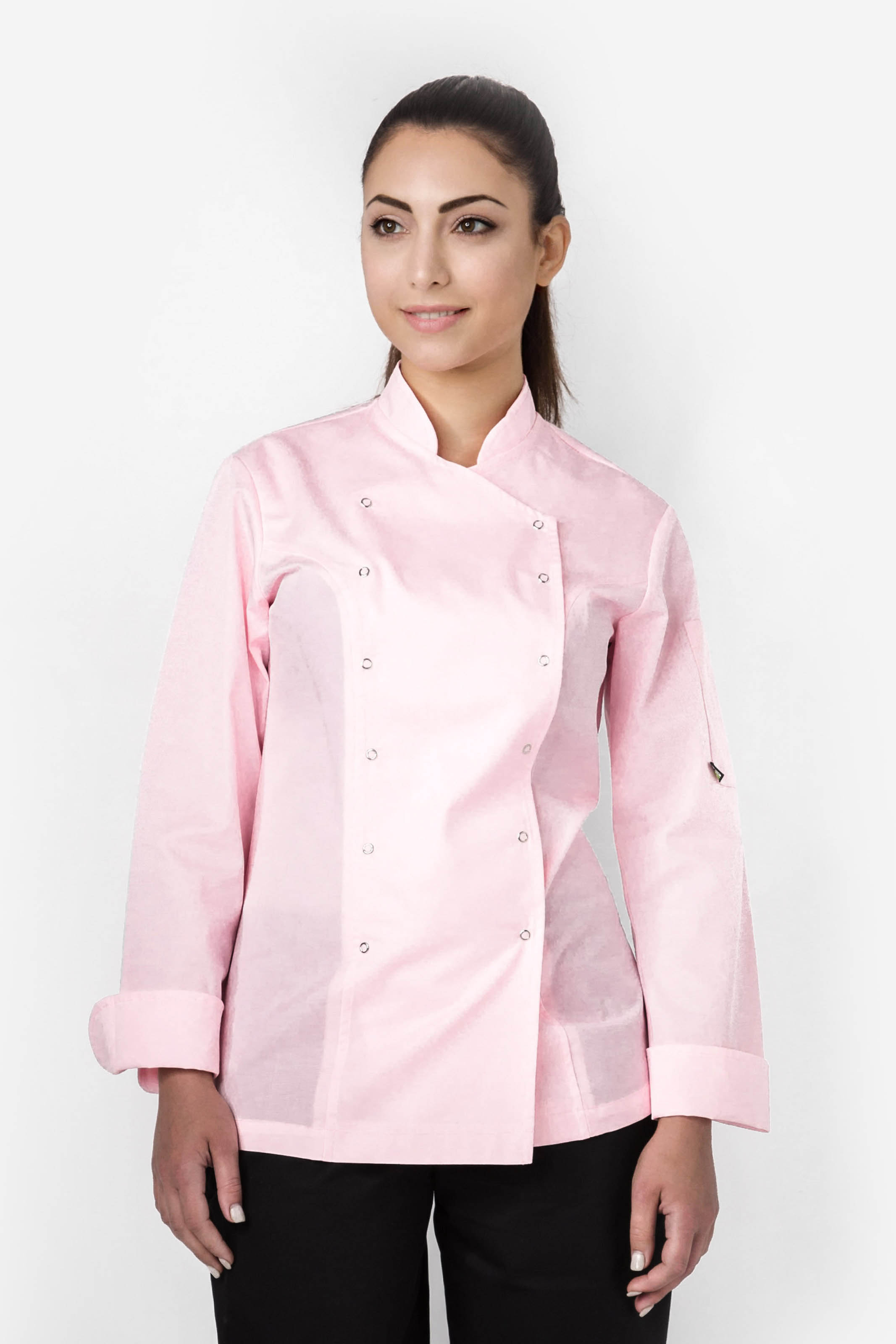 Aris Uniforms-FCJ01-Women's Xenias Long Sleeve Chef Jacket