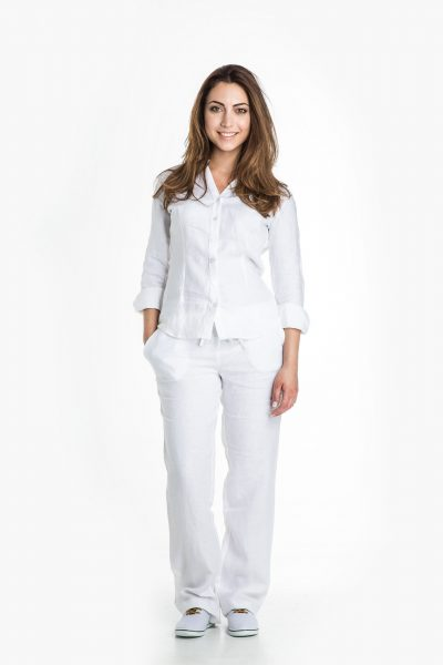 Aris Uniforms-FT14-Women's Linen Trouser