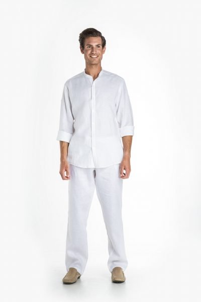 Aris Uniforms-MT09-Men's Linen Trouser