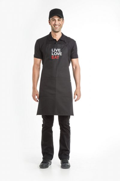 Aris Uniforms-UAP04-Live/ Love/Eat Apron