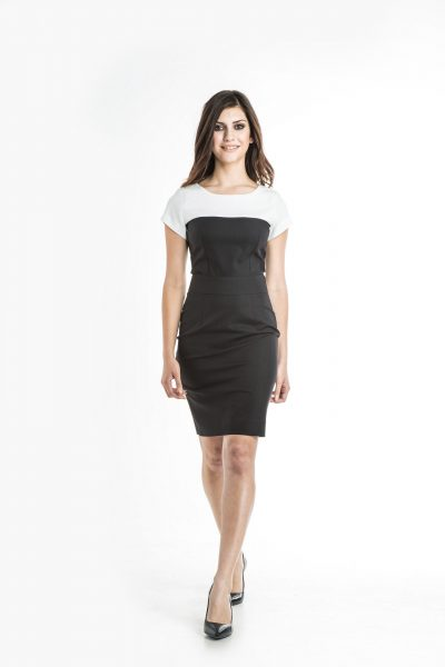 Aris Uniforms-FD09-Monica Colour Block Dress