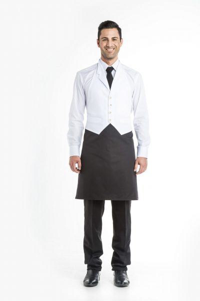 Aris Uniforms-UA22-Waistcoat Apron With Lapel
