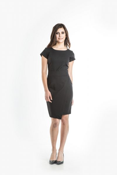 Aris Uniforms-FD10-Samantha Asymmetrical Dress
