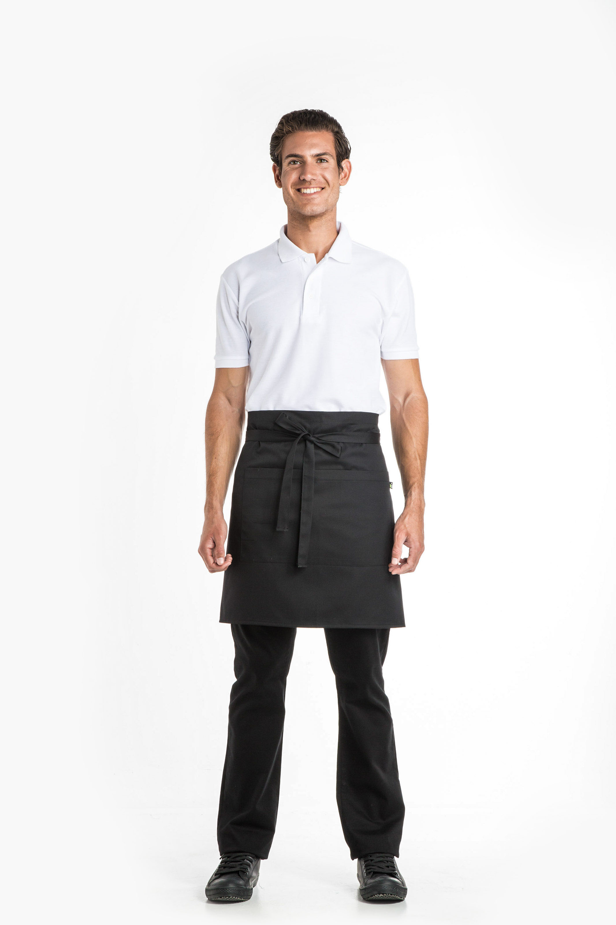 Aris Uniforms-UA02-Short Apron With Pocket