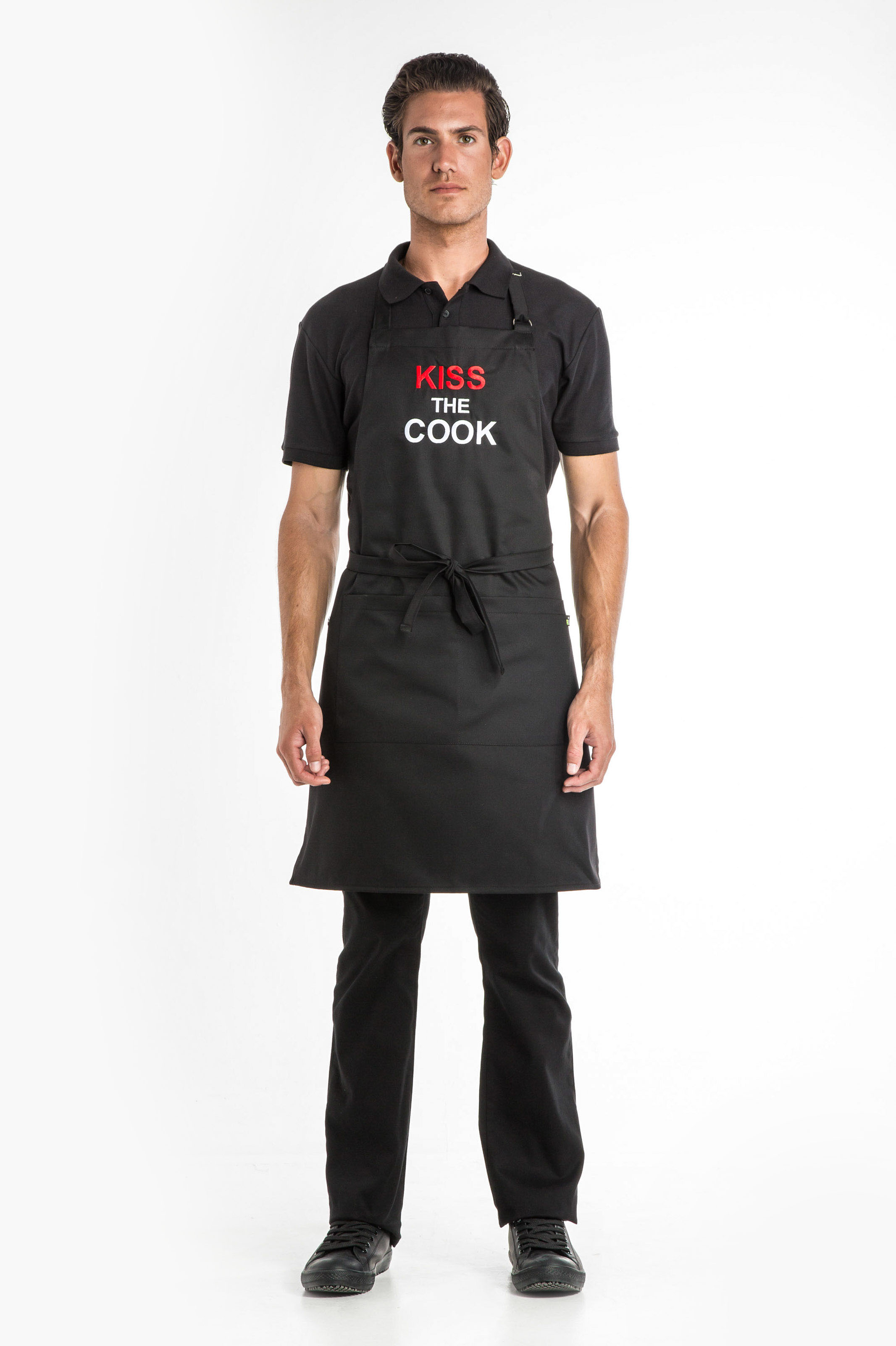 Aris Uniforms-UAP05-Kiss The Cook Apron