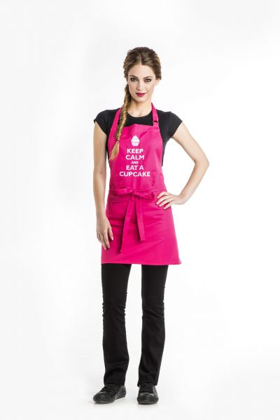 Aris Uniforms-UAP02-Keep Calm/ Cupcake Apron