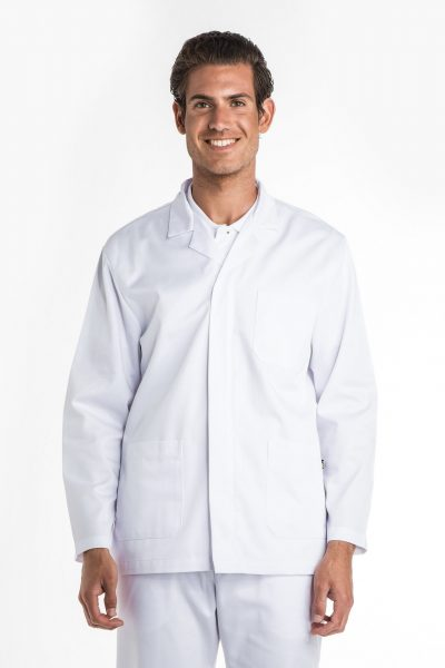 Aris Uniforms-MTU08-Men's Basic Long Sleeve Zip Tunic