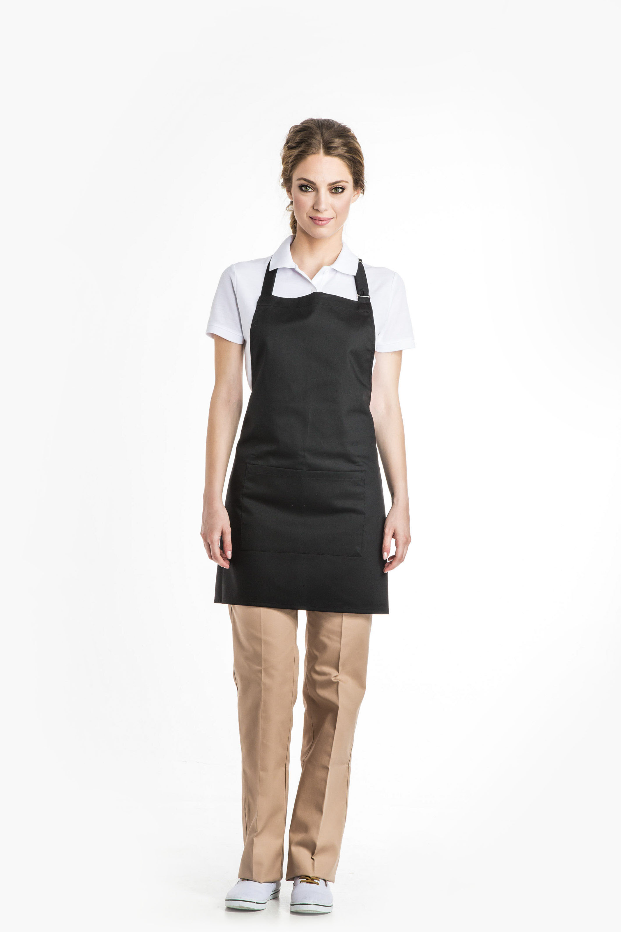 Aris Uniforms-FA09-Short Bib Apron