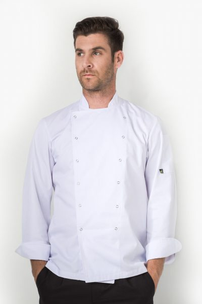 Xenias Long Sleeve Chef Jacket
