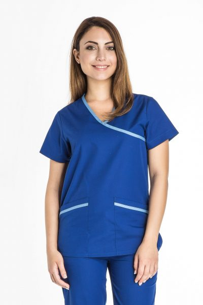 Women's Mock Wrap Tunic