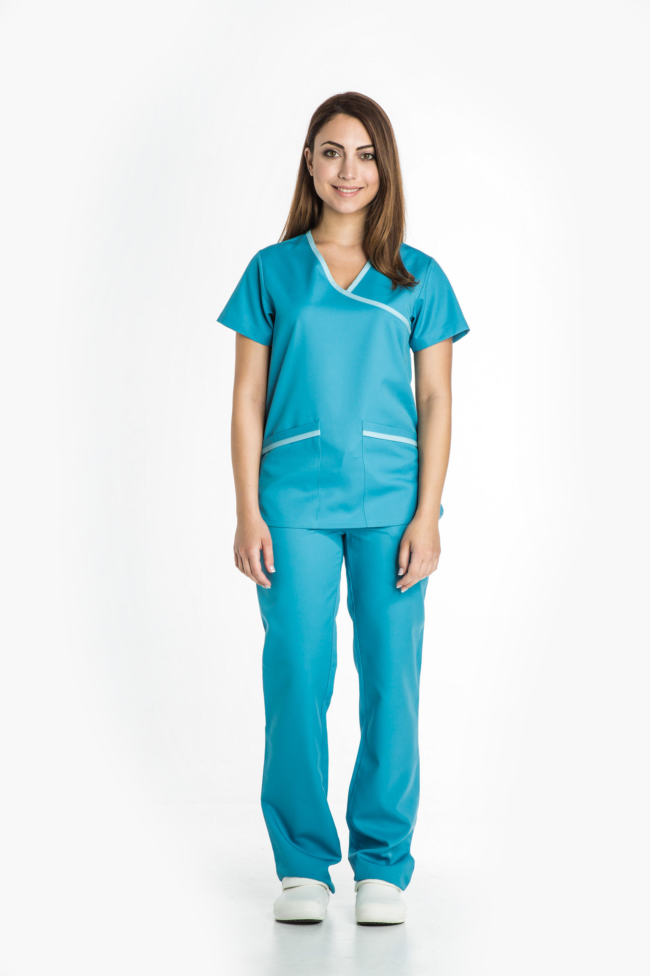 Aris Uniforms-FTU12-Women's Mock Wrap Tunic
