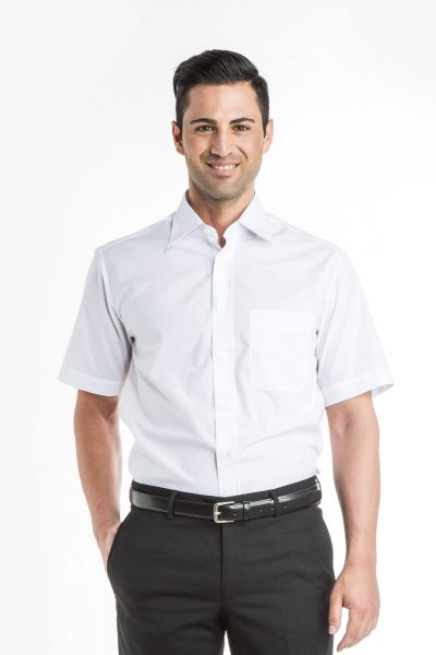 Short Sleeve Classic Collar Shirt