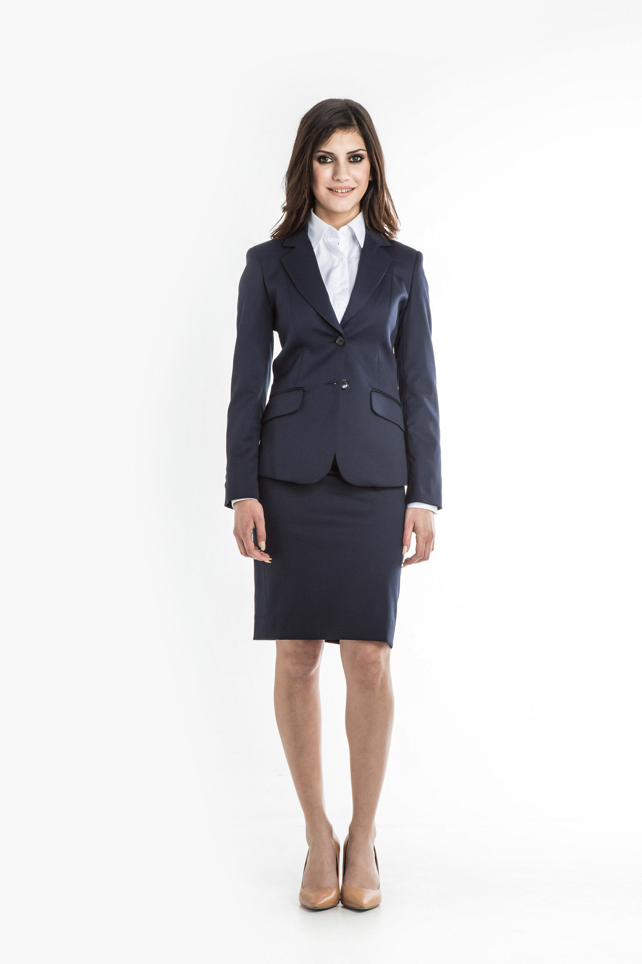 Aris Uniforms-FSK01-Drop Waist Skirt