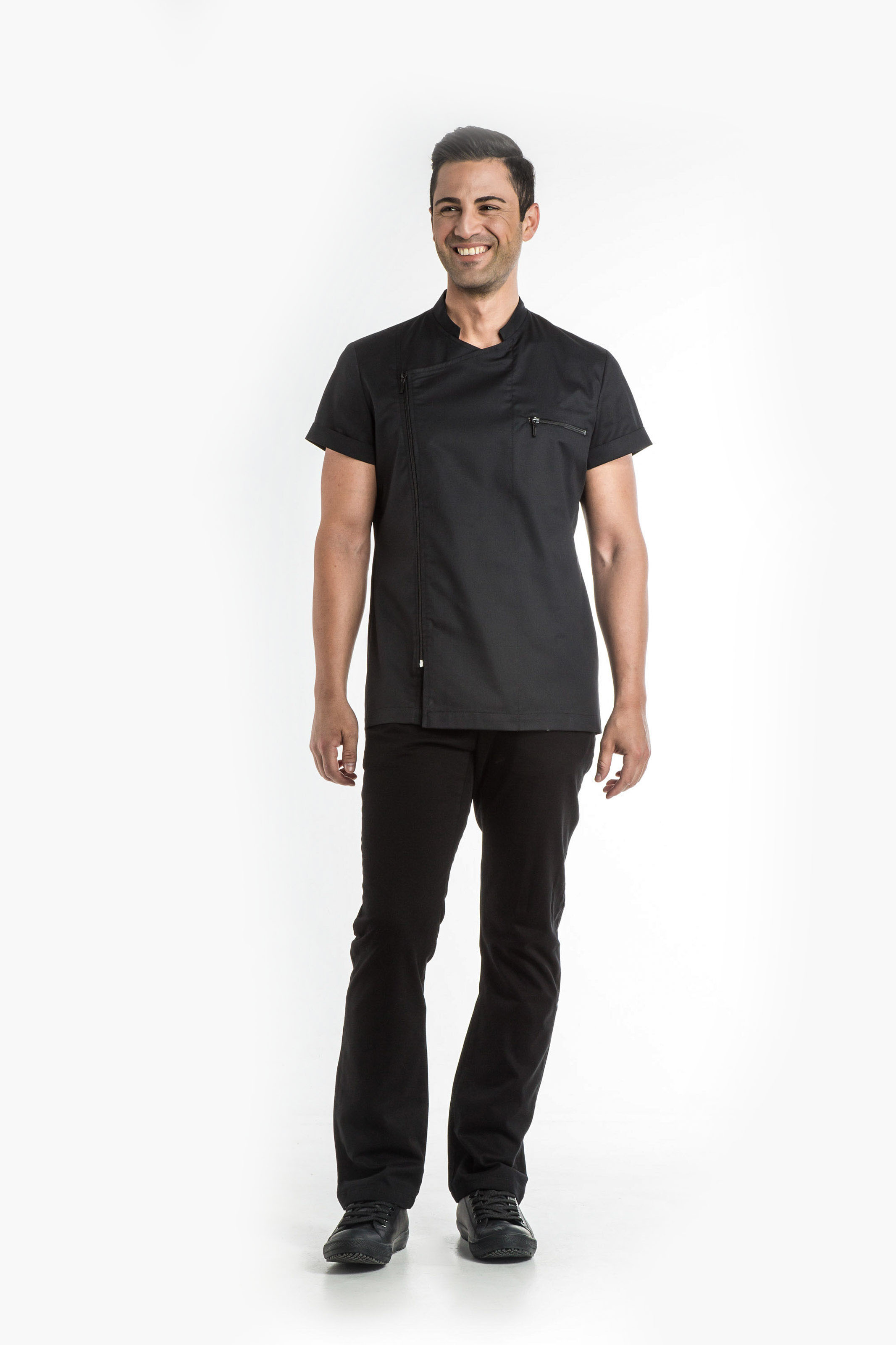 Aris Uniforms-UTU02-Zephyros Asymmetrical Tunic