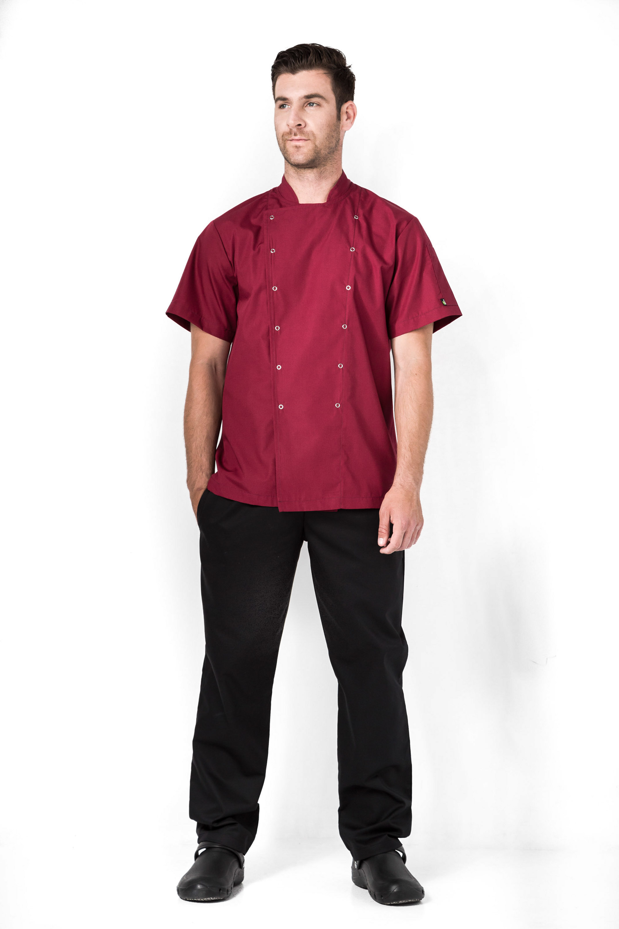 Aris Uniforms-UCJ02-Xenias Short Sleeve Chef Jacket