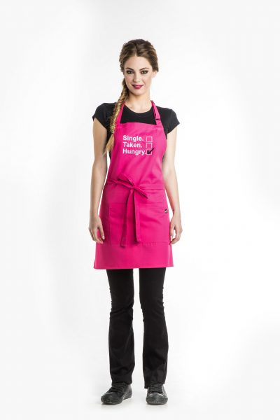 Single/Taken/Hungry Apron