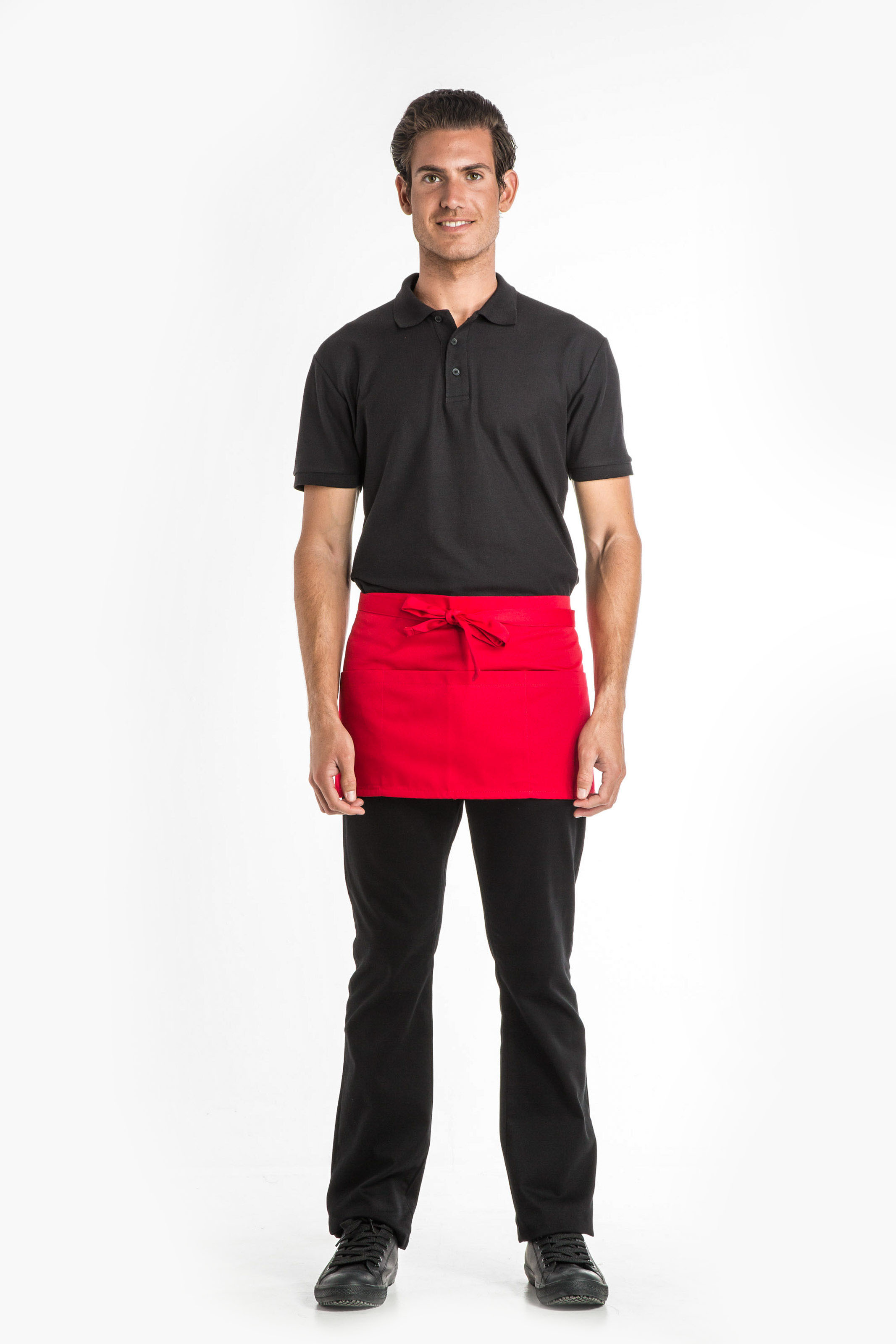 Aris Uniforms-UA01-3-Pocket Short Apron