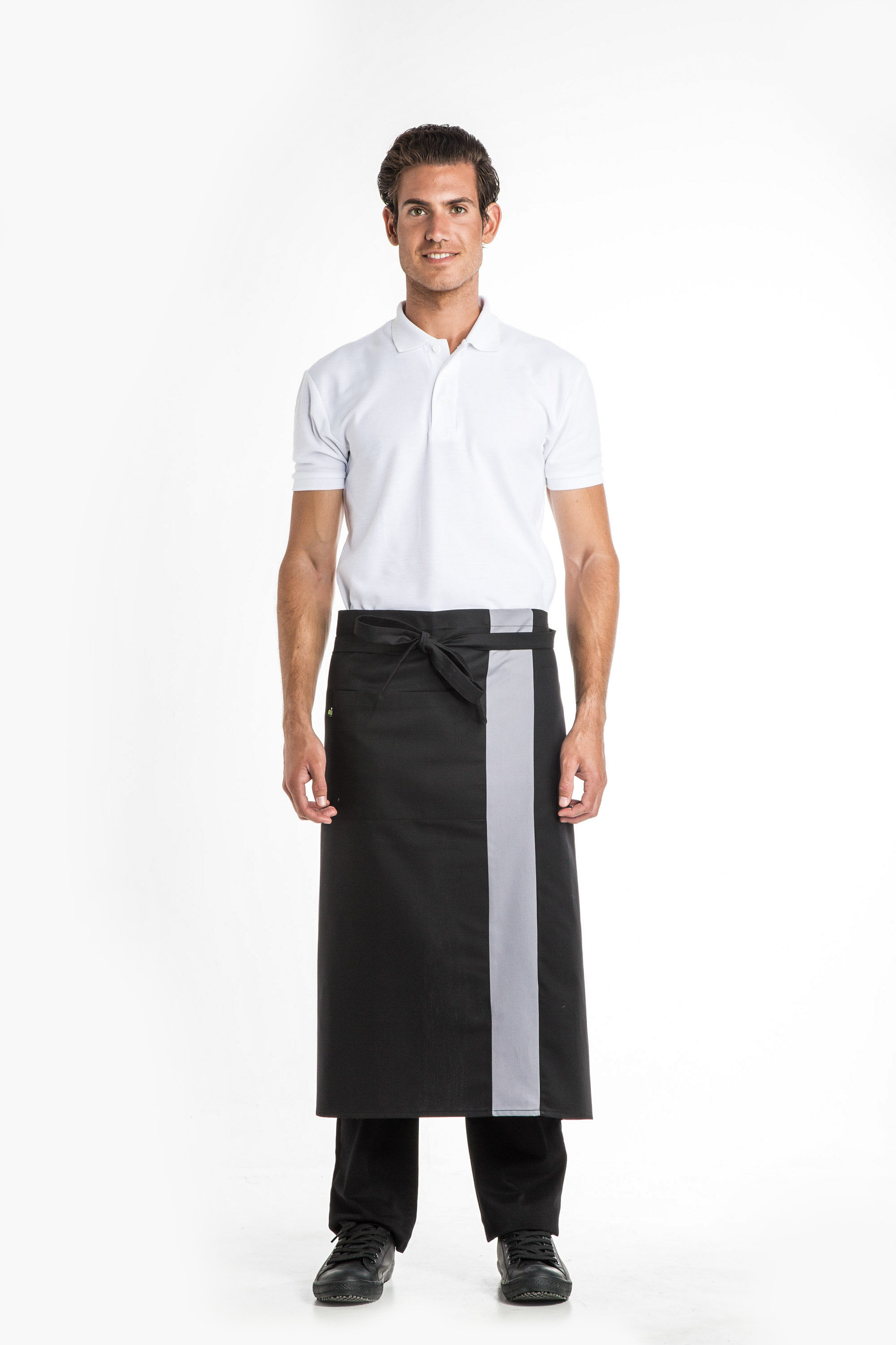 Aris Uniforms-UA09-Barstripe Long Apron