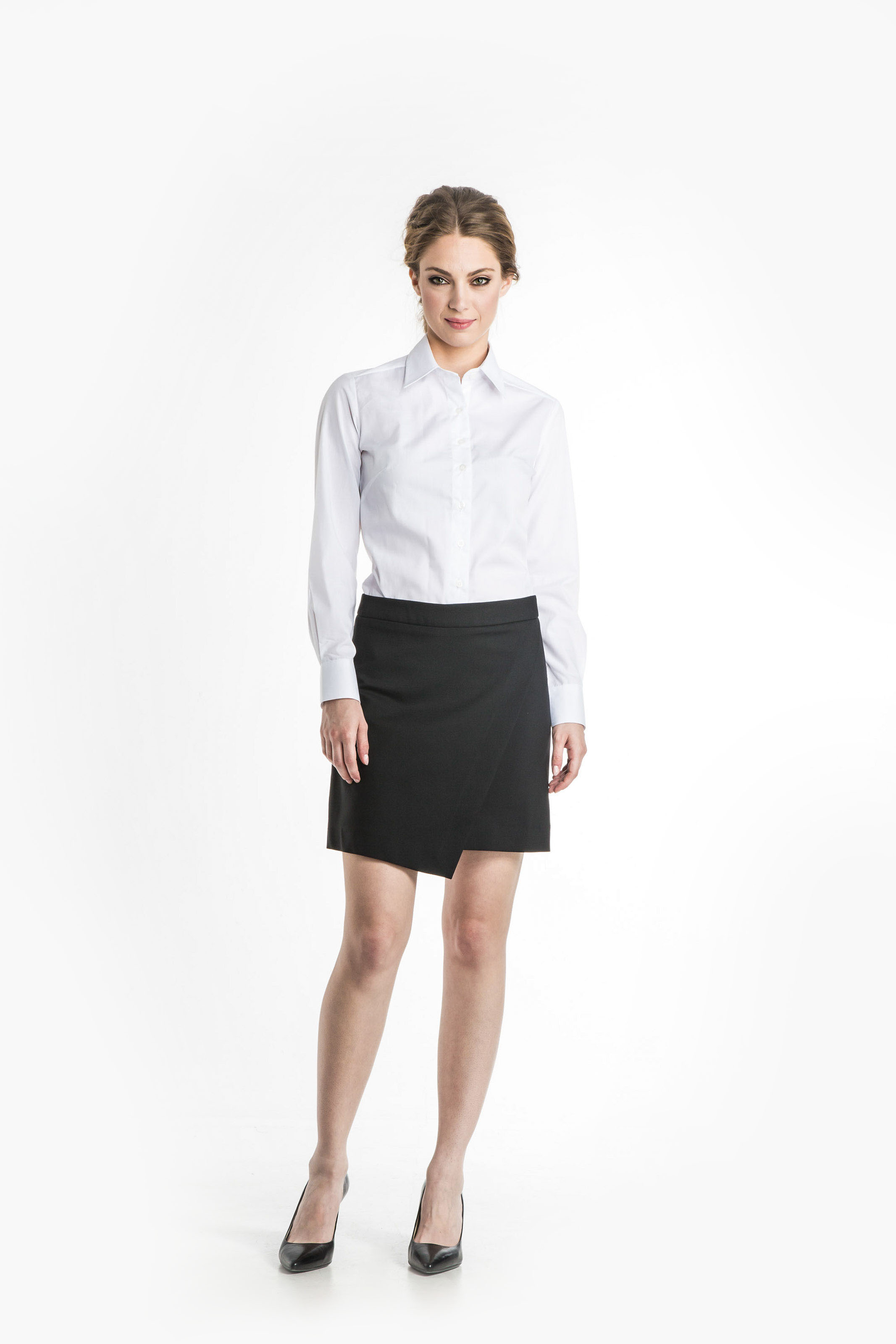 Aris Uniforms-FSK05-Asymmetrical Skirt
